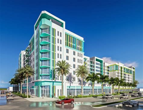 Garage Apartment Floor Plans city of dania beach approves plans dorsky yue