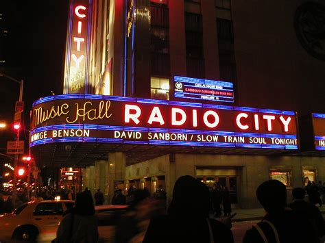 radio city arriving to new york new york the capital of the world