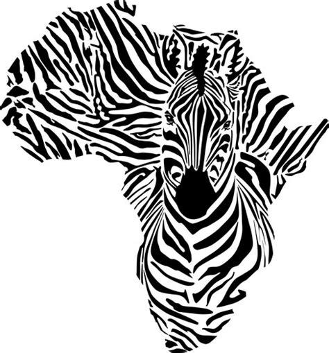 pochoir zebre carte afrique en plastique tr 232 s r 233 sistant