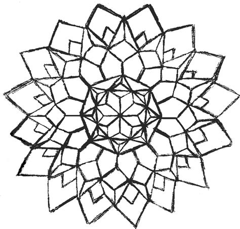 coloring pages of geometric patterns simple geometric coloring pages coloring home