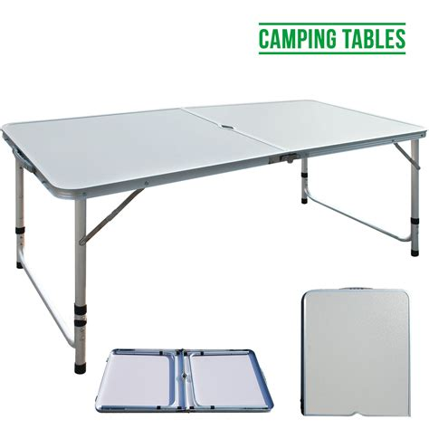 4FT 1.2M Lightweight Aluminum Portable Folding Camping