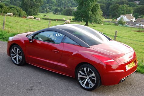 peugeot rcz rear peugeot rcz gt review driving torque