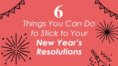 6 small things that will help you stick to your new year s