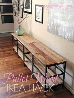 diy metal bench ikea hack darling darleen a lifestyle design blog rustic diy bookshelf with ikea ekby brackets happy to