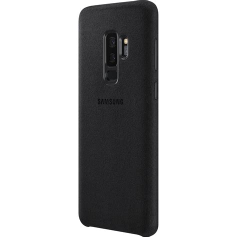 H Samsung S9 Samsung Alcantara For Galaxy S9 Black Ef Xg965abegus B H