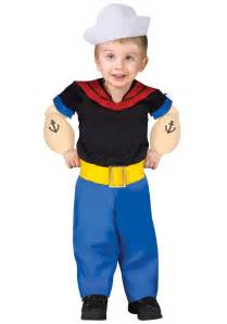 toddler boy halloween costumes unique toddler popeye costume