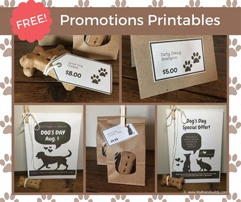 promotion ideas grooming promotion ideas free printables