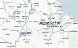 stockton map stockton on tees location guide