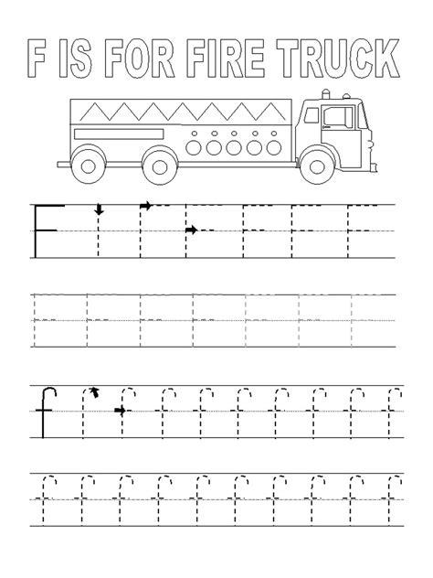 kindergarten alphabet tracing worksheets fun loving letter f worksheet to print loving printable