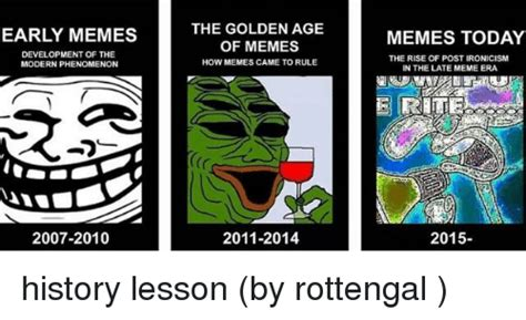 Age Of Memes - early memes development of the modern phenomenon 2007 2010