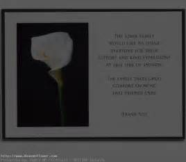 etiquette for writing thank you notes for funerals thank you notes for funeral flowers and