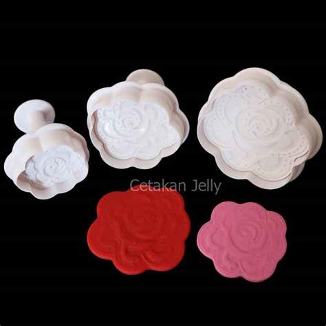 Cetakan Bunga Fondant Cookies cetakan cookies plunger cetakan jelly cetakan jelly