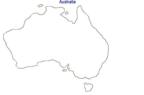 australia map outline map of australia terrain area and outline maps of
