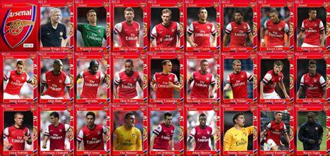 arsenal squad nikolaitradingcards football arsenal