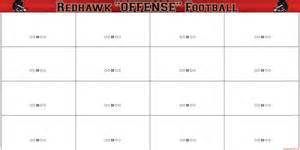 football play sheet template football formation templates pictures to pin on