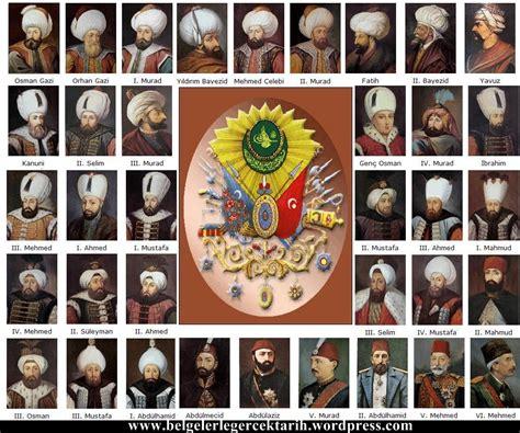 ottoman emperors family tree padisahlar hacca gitti mi belgelerle ger 231 ek tarih