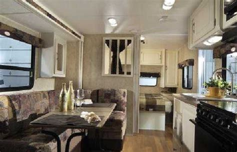 travel trailer interior trailers shabby chic style