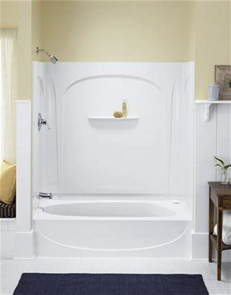 bath and shower combination unit tub shower combo casual cottage