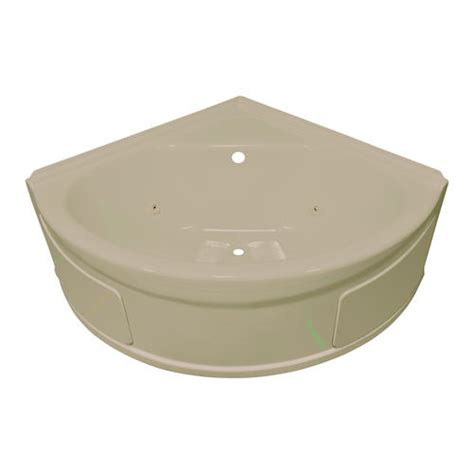 lyons bathtub lyons sea wave v whirlpool corner bathtub at menards 174