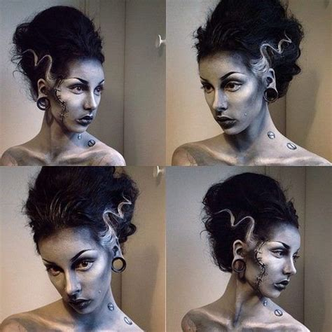 themes of beauty in frankenstein halloween holiday costumes costume make up bride of