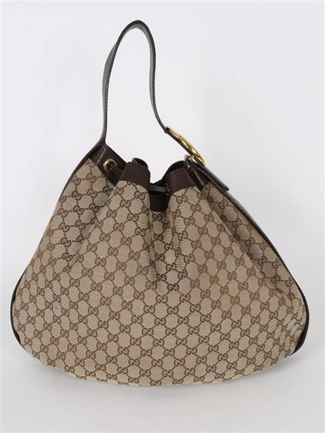 Gucci Luxury Bag gucci interlocking g drawstring gg canvas bag luxury bags