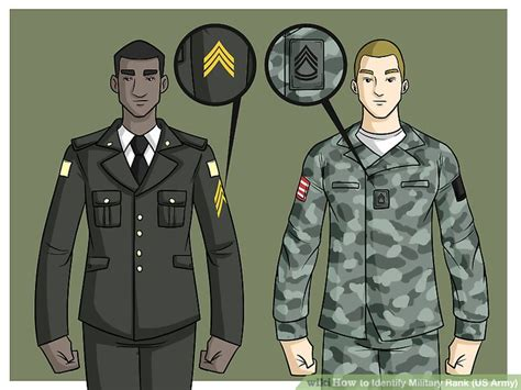 what side do sts go on how to identify military rank us army 10 steps with
