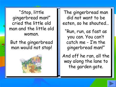printable version gingerbread man story gingerbread man story book