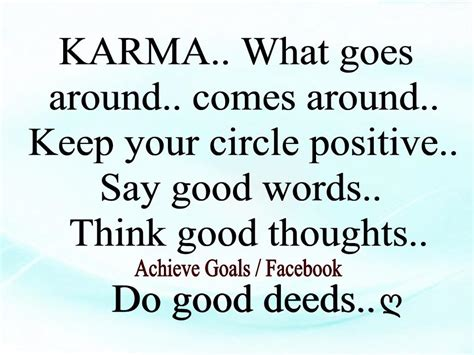 What Goes Around Comes Around by Quotes About Karma Coming Around Quotesgram