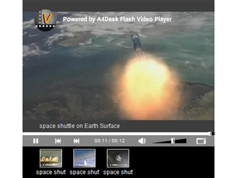 A4desk Flash Video Player Flash Video Software Play Movie On Website Website Video Player Web Flash Player Website Templates