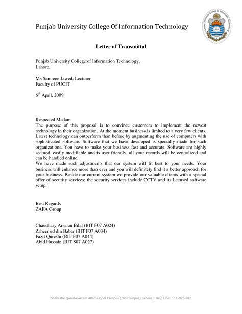 Transmittal Letter Court Search Results For Exle Of A Letter