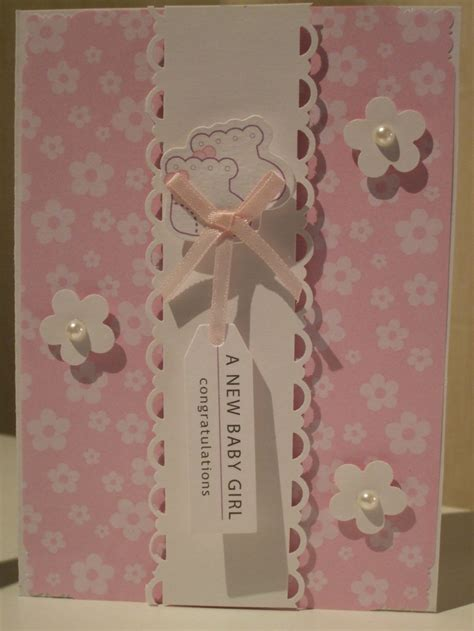 New Baby Handmade Cards - 17 best images about handmade cards baby on