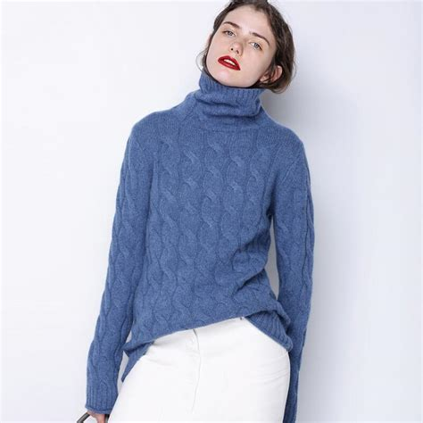 Sweater 2017 Loading 6 high collar sweater thick sweater fashion 2017 autumn and winter new twist