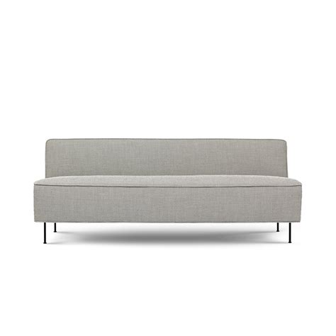 Modern 2 Seater Sofa Modern Line Sofa 2 Seater By Greta M Grossman For Gubi Up Interiors