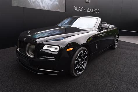 rolls royce black badge rolls royce black badge arrives at goodwood auto