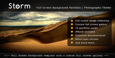 themeforest video background storm html full screen background themeforest template