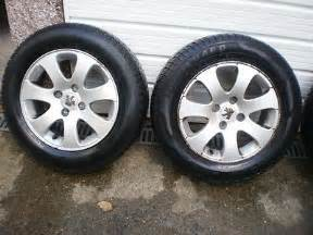 Peugeot 307 Tyres Peugeot 307 Alloy Wheels And195 65r15 Tyres X 5 163 65 00