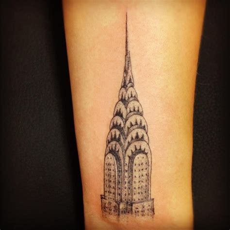 building tattoos 169 best chrysler building images on new york