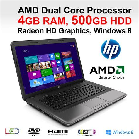 Laptop Amd Ram 4gb Hp 255 Cheapest Laptop Amd E 1500 Dual 4gb Ram 500gb Hdd 15 6 Quot Dvd Rw Hdmi Ebay