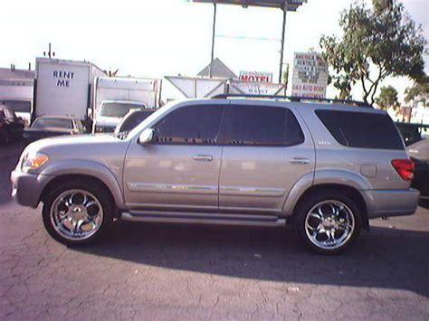 2005 Toyota Sequoia Specs Hiusequoia 2005 Toyota Sequoia Specs Photos Modification