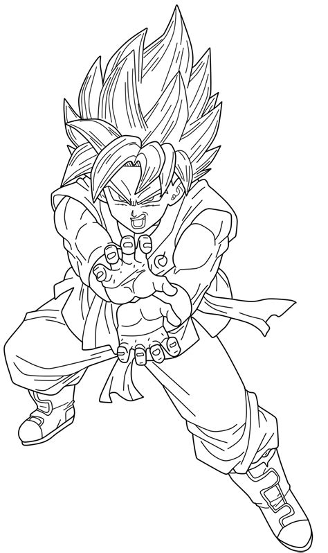 ssgss goku coloring pages ssgss god goku dragon ball z coloring pages ssgss best
