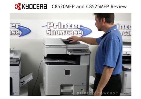 color printer reviews color laser printer review kyocera c8520mfp c8525mfp