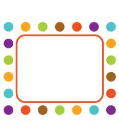 dot and policy template polka dot border template clipart best
