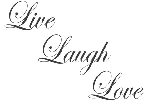 Live laugh love wall decal easy decals