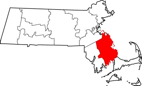 plymouth ma county file map of massachusetts highlighting plymouth county svg