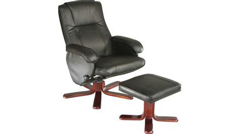 fauteuil relax cuir pas cher fauteuil relaxation avec pouf cuir noir fauteuil relaxation pas cher