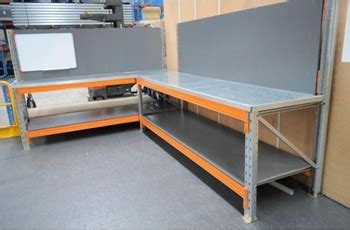 Pallet Rack Workbench by Pallet Racking Work Benches And Shelving