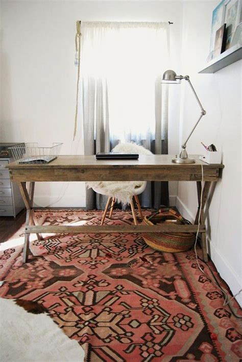 Rug In Office by Styling Tips Layering Rugs 4 Ways Erika Brechtel
