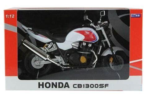 Terlaris Diecast Miniatur Motor Honda Cb 1300 Sf Asli Original 2 black white 1 12 scale diecast honda cb1300sf model nm01b206 ezmotortoys