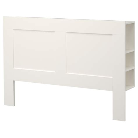 Brimnes Headboard With Storage Compartment White Standard Ikea Bed Headboards
