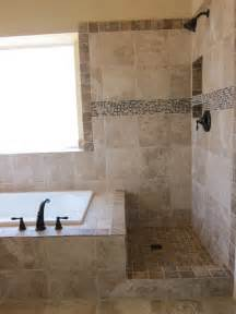 Decorative Bathroom Cabinets by Shower And Tub Master Bathroom Remodel Traditional